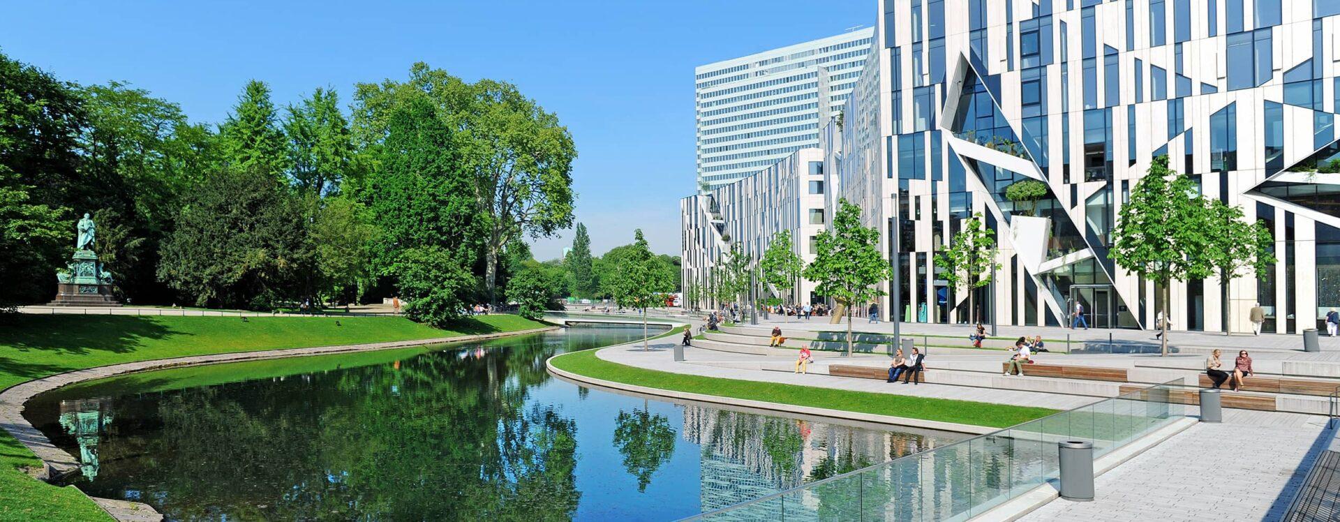 Der Kö-Bogen ist ein Gebäudekomplex und Freiraumgefüge zur Stadterneuerung in der nordrhein-westfälischen Landeshauptstadt Düsseldorf.
